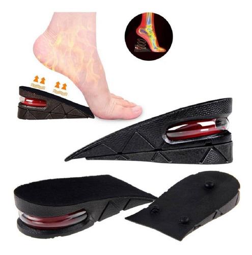 Imagen 1 de 6 de Plantillas Elevadoras Capsula De Aire Cualquier Zapato 5 Cm