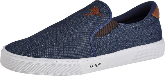 Tênis Casual Sapatenis Yate Slip On Masculino Polo Joy