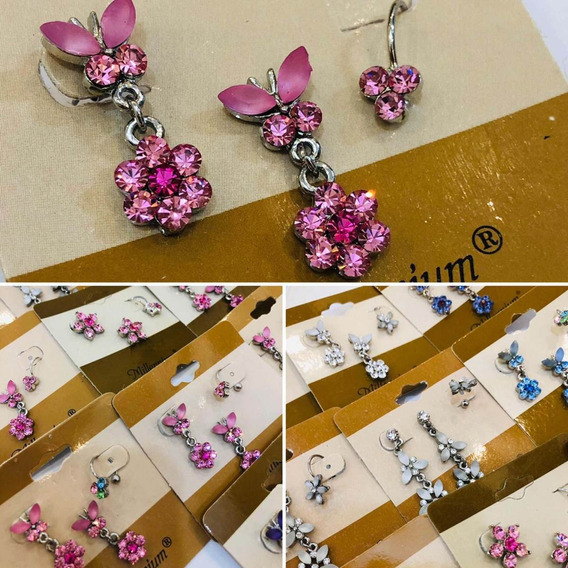 Brincos Com Piercing Fake 12 Kits Bijuterias Ear Cuff