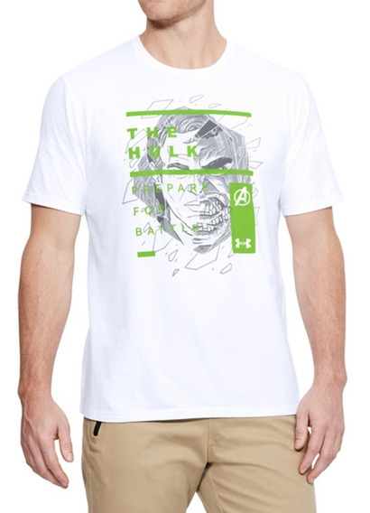 Playera Avengers The Hulk Overlay Hombre Under Armour Ua2604