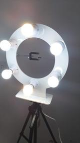 Ring Light 6 Bocais Completo