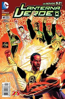 Lanterna Verde Ed. 41 Capa Variante Dc Comics Panini Comics