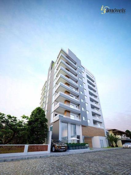 Apartamento À Venda No Centro De Balneário Piçarras Com 1 Suíte Mais 2 Dormitórios E 2 Vagas. - Ap1705
