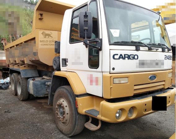 Cargo 2422 - 08/09 - Truck, Caçamba 10m³, C/ 160.000 Km