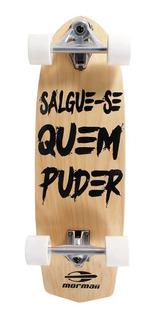 Skate Swingboard Simulador De Surf Mormaii Madeira Carver