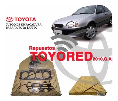 Juego De Empacadura Toyota Corolla 2000 2001 2002 Original