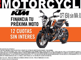 Duke 200 0km 2017 Gs Motorcycle