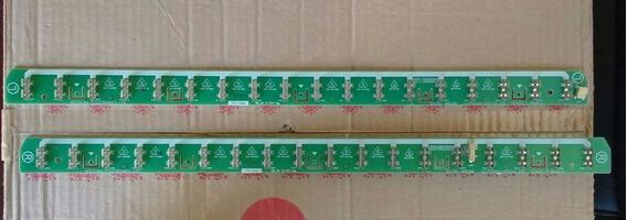 Placa De Encaixe De Lampadas Lcd Da Tv Semp Lc4243w (r E L)