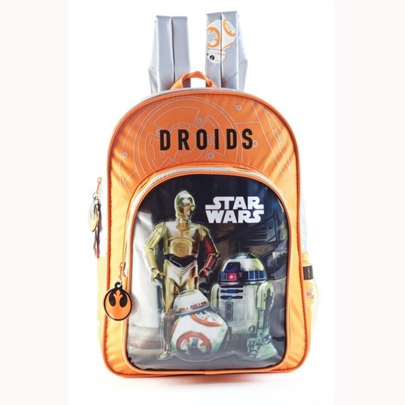 Mochila Star Wars Espalda Gde 16l Bb8 Vader Ideal Primaria