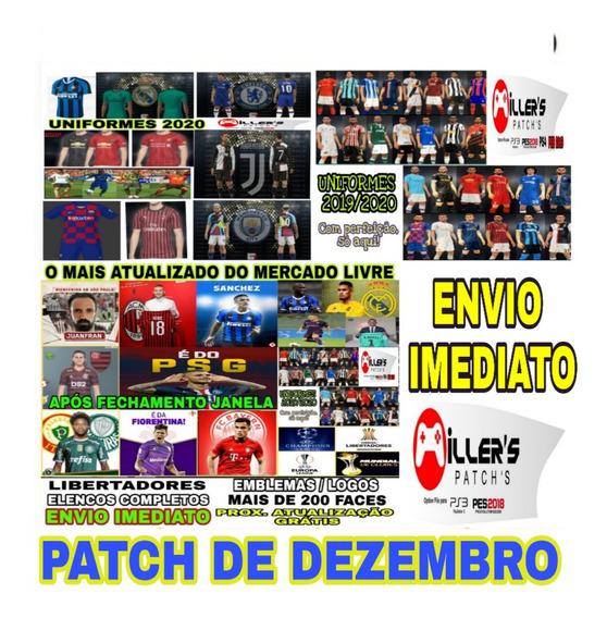 Patch Pes 2018 Ps3 Brasileirão 2019/2020 + Atualização Gratis