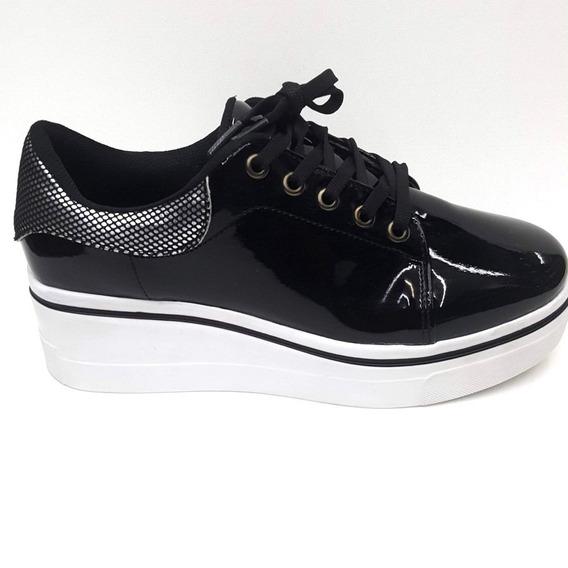 Zapato Casual Mujer Con Plataforma Tipo Cuña U55134