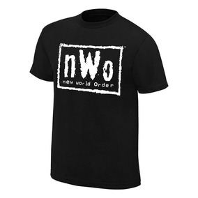 Playera Nwo Wwe Authentic Wear Original Lucha Libre Retro
