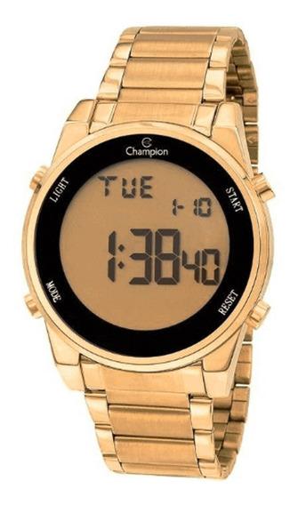 Relógio Feminino Champion Digital Ch40071g - Dourado