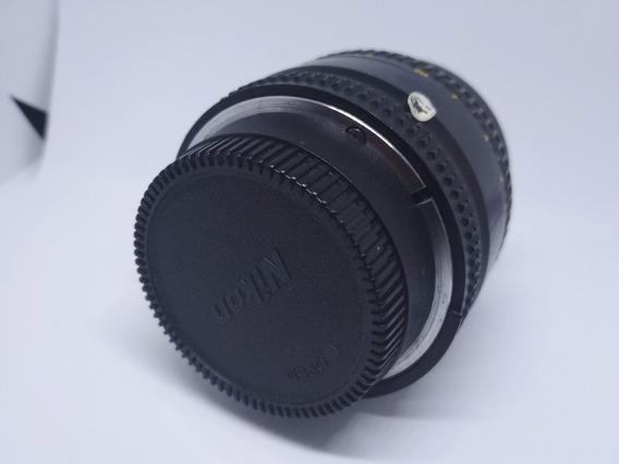 Tampa Traseira Lente E Frontal Nikon Corpo