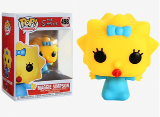 Muñeco Funko Pop Los Simpsons Maggie 498 Original!!