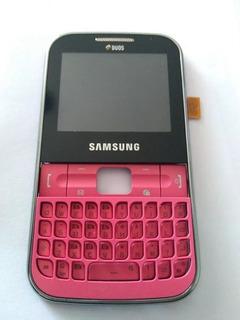 Lcd Carcaça Da Frente Samsung C3222
