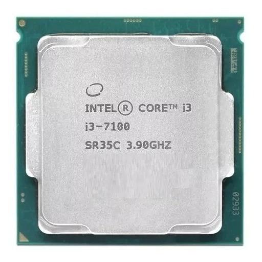 Processador Intel®core I3-7100 3,90 Ghz Oem 7 Geração+brinde
