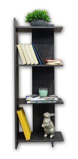 Librero Loreto 120 Minimalista Y Modeno