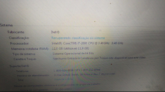 Vendo Cpu Gamer I7