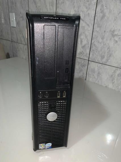 Pc Dell Optiplex 745 Core2 Duo - E4300 - 160gb Hd - 04gb Ram