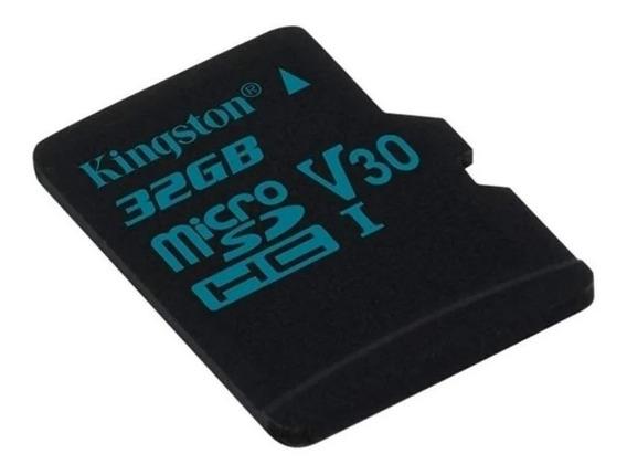 Cartão De Memória Kingston Sdcg2 Canvas Go! Com Adaptador Sd