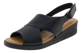 f45bcdcf8 Sandália Anabela Usaflex Clovis Calçados - Sapatos com o Melhores ...