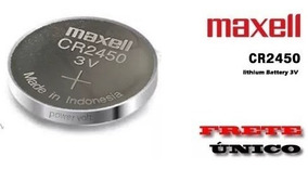 Bateria Maxell Cr2450 3v Lithium Original (unidade)