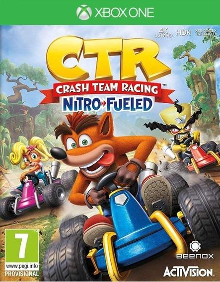 Crash Team Racing Nitro-fueled - Xbox One - Mídia Digital