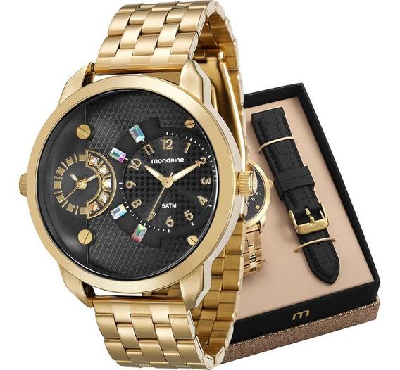 Relógio Mondaine Relógio Feminino Com Pulseira Extra N.f.