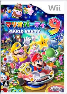 Juegos,mario Party 9 Importación Japonesa
