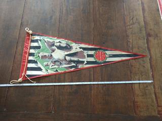 Rara E Antiga Flamula Comemorativa Aos 400 Anos De Sao Paulo
