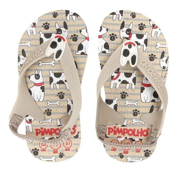 Chinelinho Com Elastico Para Bebes Sandálias