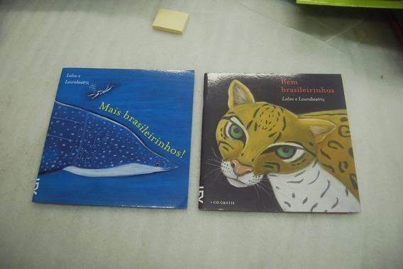 Lote Com 2 Livros - Bem Brasileirinhos E Mais Brasileirinhos