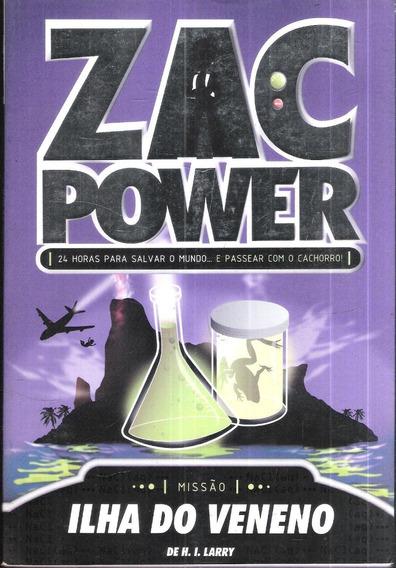 Ilha Do Veneno - Zac Power - H. I. Larry 1150