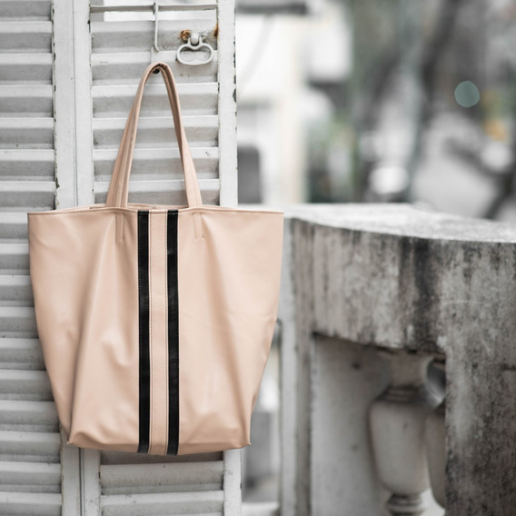 Bolso Tote Bag Piel Vegetal