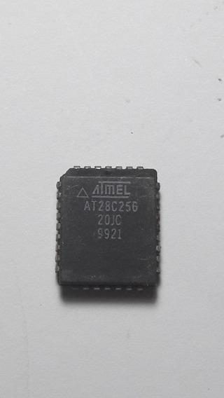 10pç Memoria Smd At28c256-20jc Plcc32