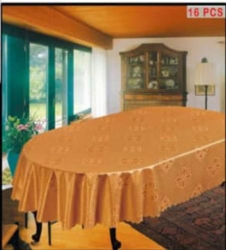 Mantel De Mesa Ovalado 60x90,,152cm X 228cm Tienda Chacao