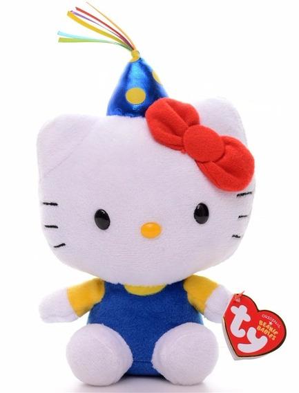 Pelúcia Beanie Babies Ty Hello Kitty Classica Original Dtc