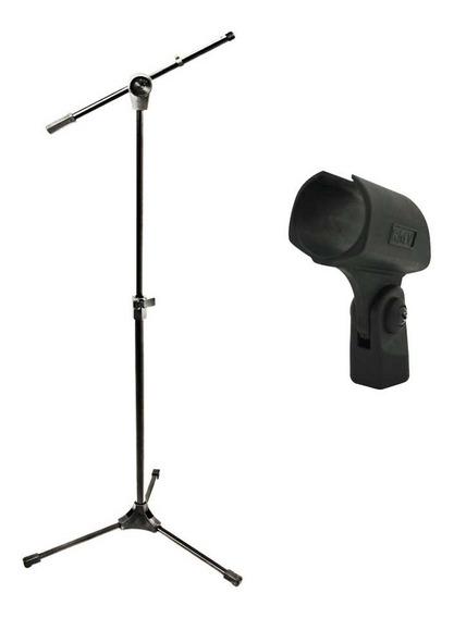 Pedestal Para Microfone Rmv Psu 142 + Cachimbo - Nf E Gtia