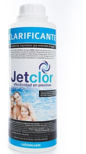 Clarificante Piscinas Y Piletas Jetclor Por 1 Litro