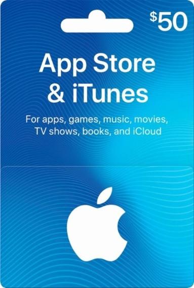 Turbine Seu iPod/iPhone! Itunes Gift Card De 50 Dólares Usa
