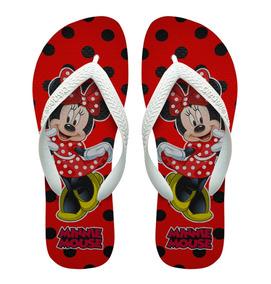 fdb6ead3811e04 Chinelo Havaianas Minnie Preto E Vermelho - Sapatos Branco no ...