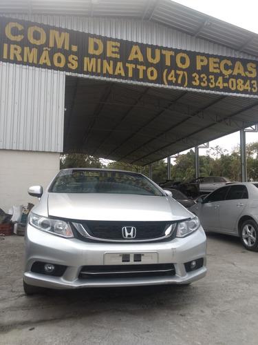 Honda Civic Lxr 2015 Sucata Para Peças 2015