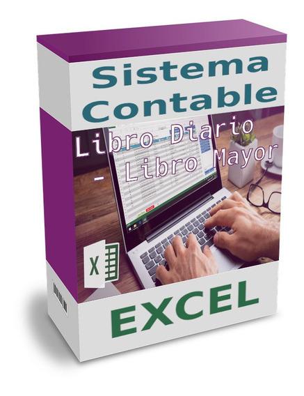 Software Contable Excel - Balance Libro Diario Libro Mayor