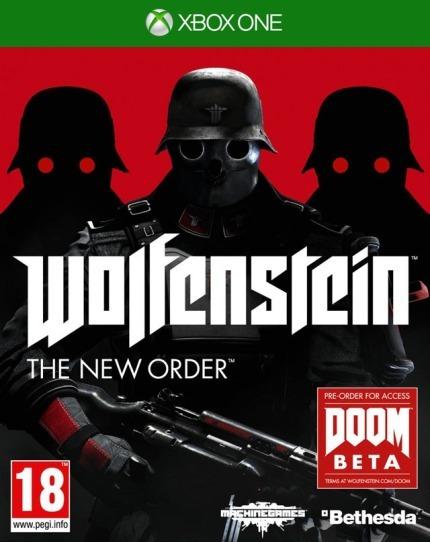 Wolfenstein - Xbox One Lacrado Novo Mídia Física.