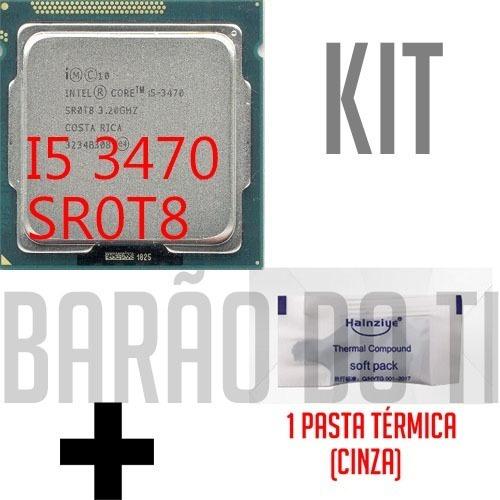 Processador Intel Core I5 3470 Sr0t8 3.20 Ghz Lga1155