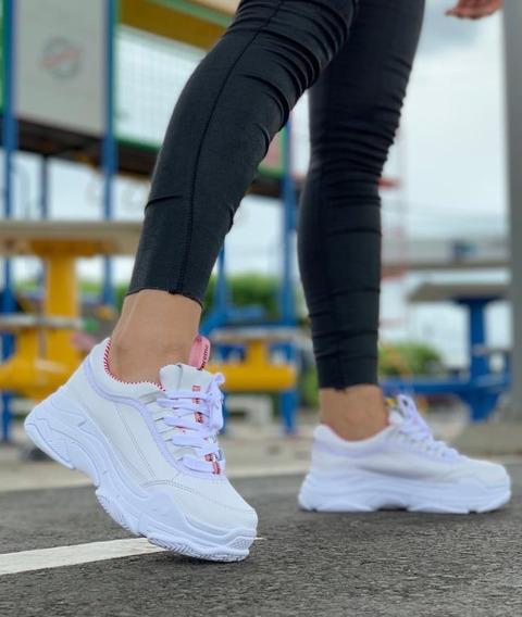 Tenis Zapatillas Calzado Deportivo Para Dama