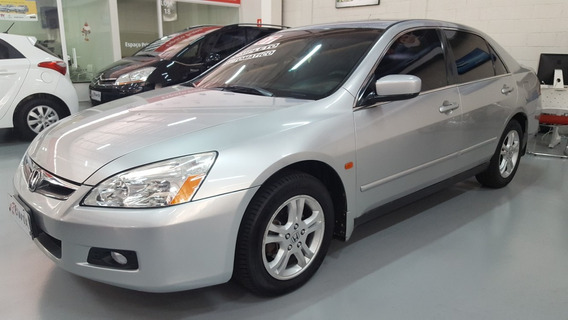 Honda Accord Lx Aut. Ñ Civic 2007 Novo Troco Financio S/ Ent