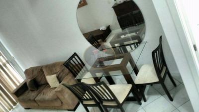 Loft Com 1 Dormitório Para Alugar, 69 M² Por R$ 2.900/mês - Gonzaga - Santos/sp - Lf0024