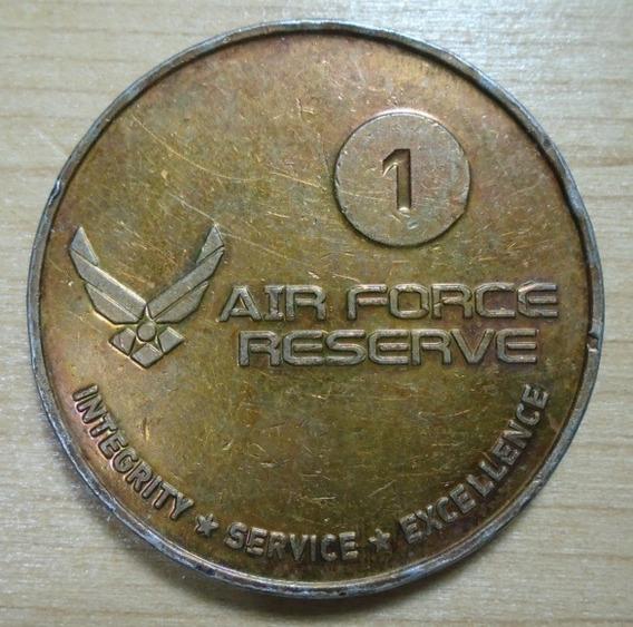 Ficha Medalla Air Force Reserve Award Referral 39 Mm 26.5 Gr